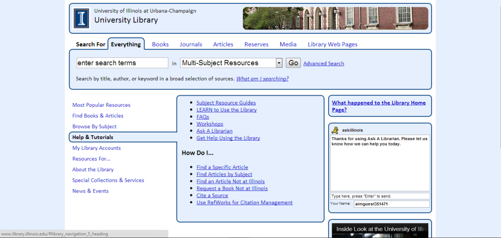 http://www.library.illinois.edu/